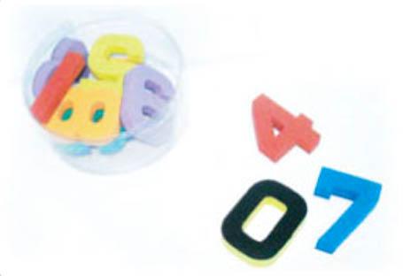 อักษรแม่เหล็ก 0-9