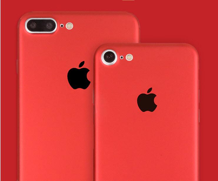 ฟิล์มหลังเครื่อง Iphone 6/6s (สีแดง)