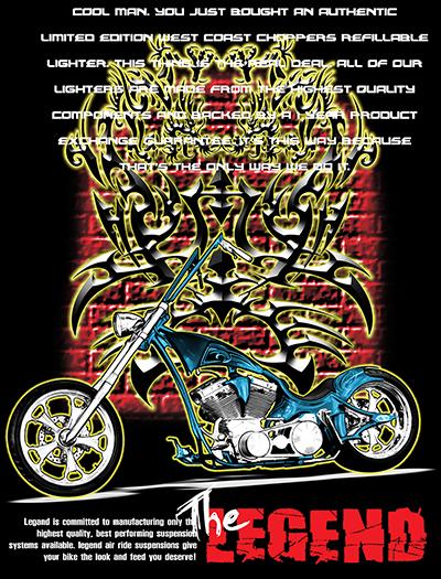 ลายสกรีนฮาฟโทนแนวรถจักรยานยนต์