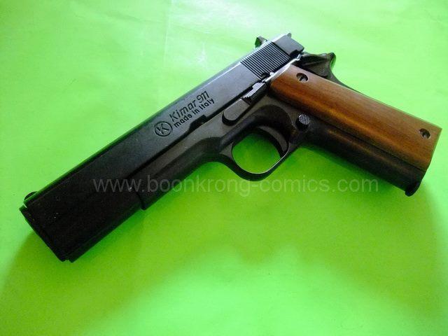 Kimar Colt 911/1911 Black Top Firing 8mm.PAK Blank gun