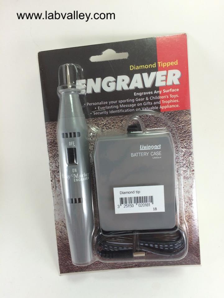 ปากกาเขียนแก้ว หัวเพชร (diamond Tip Engraver pen)