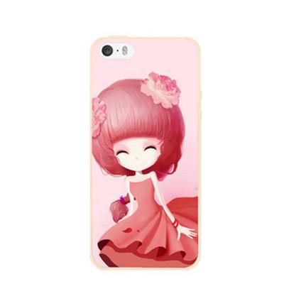 เคสไอโฟน 6 Plus / 6s Plus (TPU CASE) สาวเกาหลีน่ารัก แบบ 9