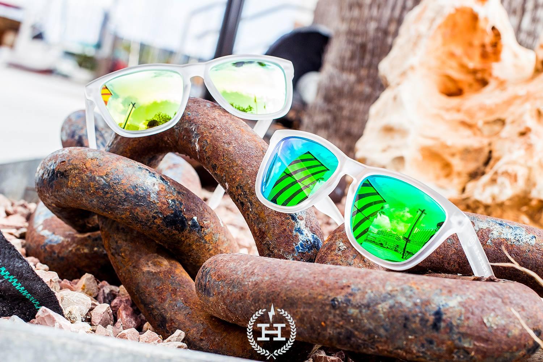 Hawkers Sunglasses Glaciar White - Acid One (H-13)