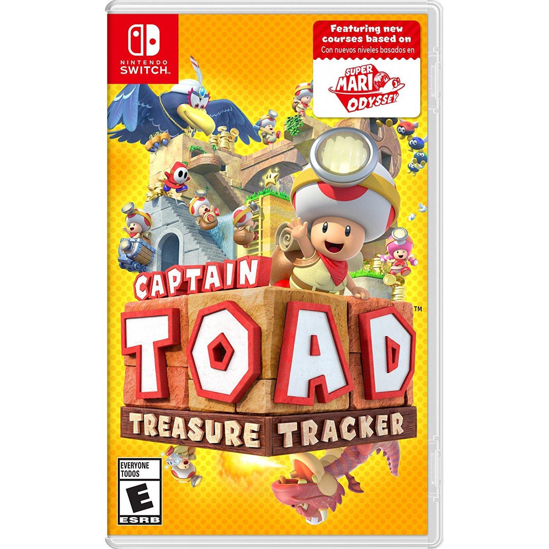 Nintendo Switch: Captain Toad:Treasure Tracker (US/Asia)