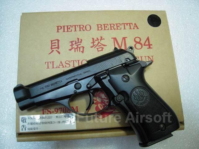 FS Beretta M84 Black Model Gun