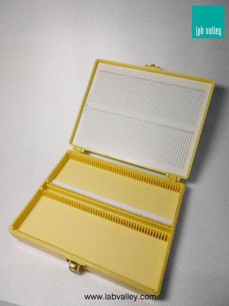 กล่องเก็บสไลด์ microscope slides box