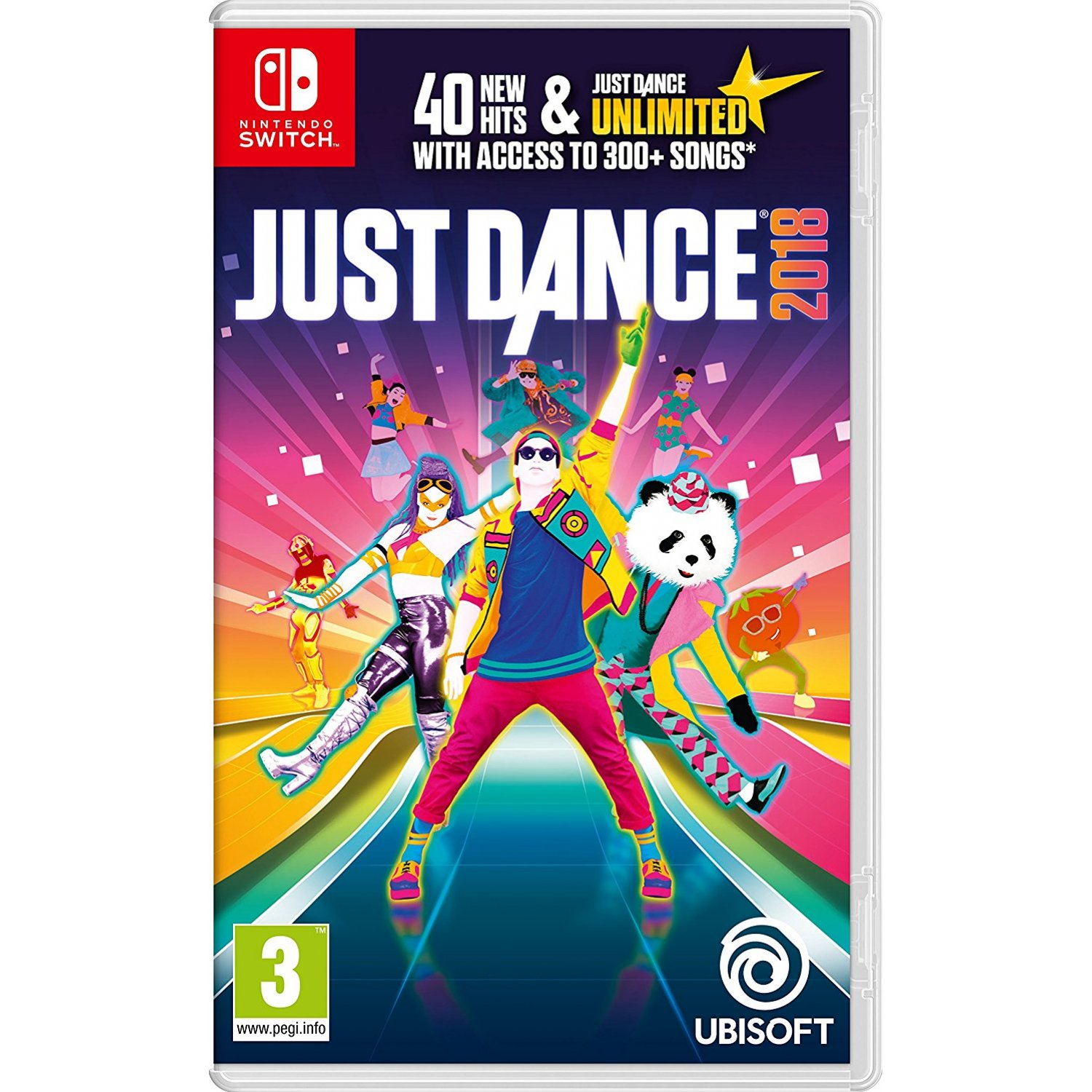 Nintendo Switch : Just Dance 2018 (EU)