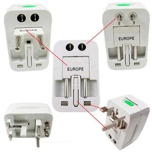 Adapter International ALL-IN-ONE (หัวแปลงปลั๊กไฟพกพาสำหรับเดินทางไปต่างประเทศ)