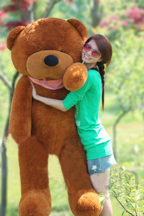 ตุ๊กตาหมี หลับตา ขนาด 2.0 เมตร