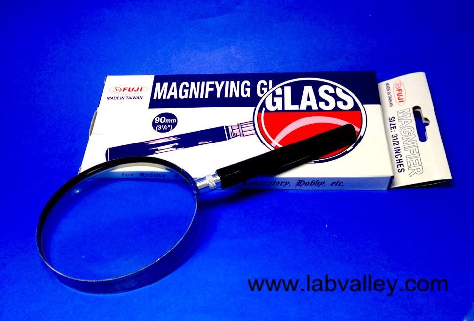 แว่นขยาย แบบด้ามถือ magnifying glass
