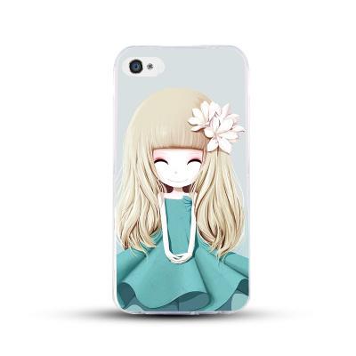 เคสไอโฟน 6 Plus / 6s Plus (TPU CASE) สาวเกาหลีน่ารัก แบบ 21