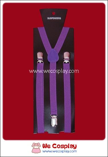 สายเอี๊ยม สีม่วง Purple Suspenders