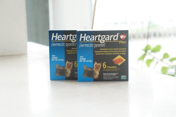 Heartgard Plus สุนัข 0-11 kg