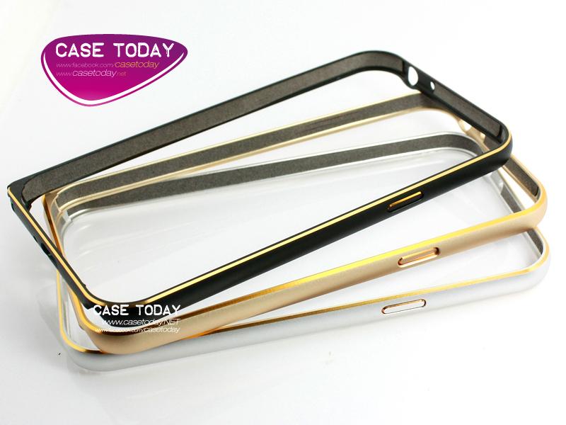 เคส Note 2 Bumper อลูมินัมคาดขอบทอง
