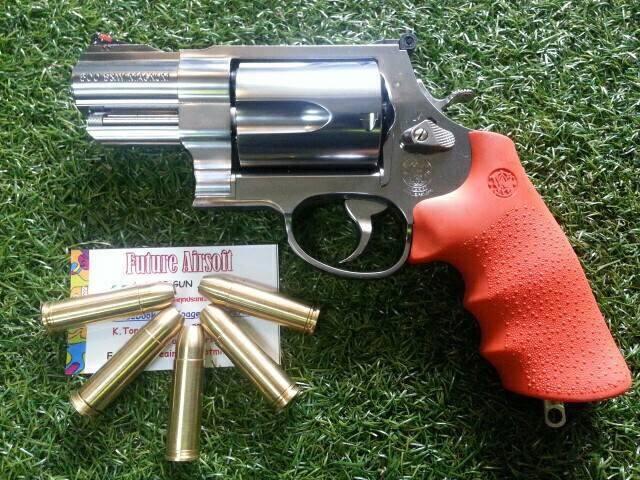 Tanaka S&W M500 2-3/4 inch Emergency Survivl Stainless Model Gun (Silver)