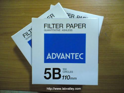 กระดาษกรอง advantec filter paper