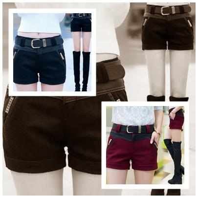 กางเกงขาสั้น แฟชั่นโดนๆ ที่สาวๆขาเรียวสวยไม่ควรพลาด set 4