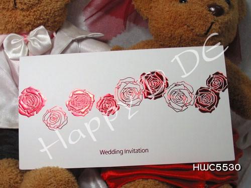 HWC5530 การ์ดแต่งงานแนะนำ