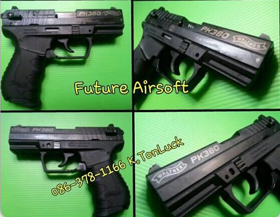Umarex Walther PK380 Blank gun Full Stee