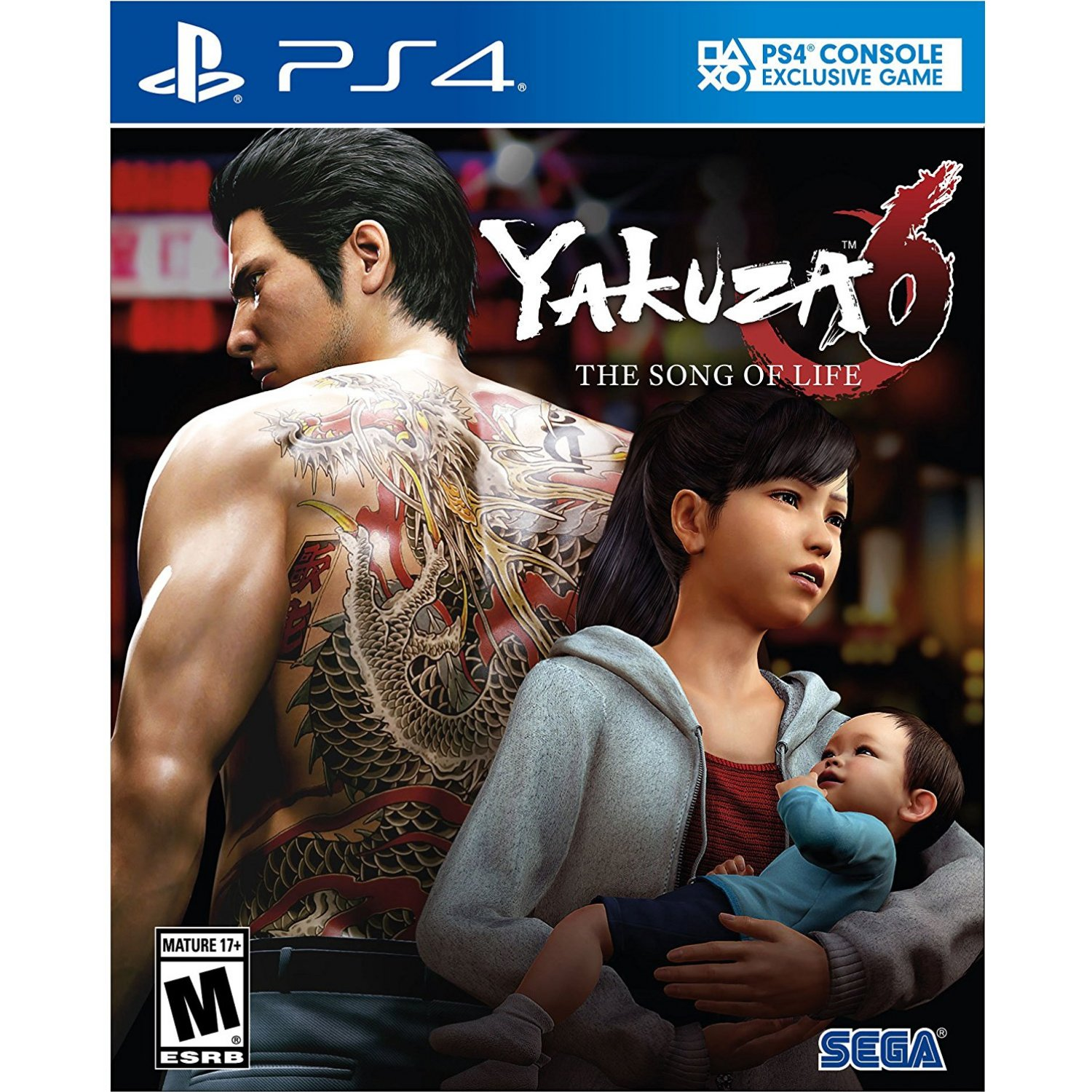 PS4: Yakuza 6 The Song of Life (R3)