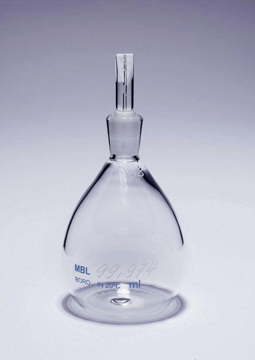 ขวดหาความถ่วงจำเพาะ specific gravity bottle (pycnometer)