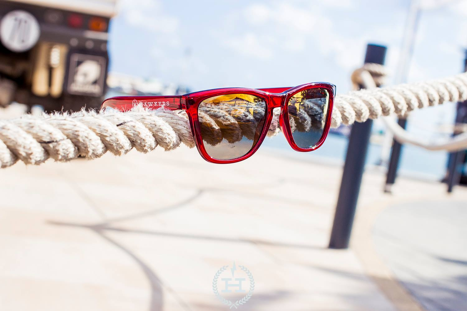 Hawkers Sunglasses Magma Vegas Gold One (H-21)