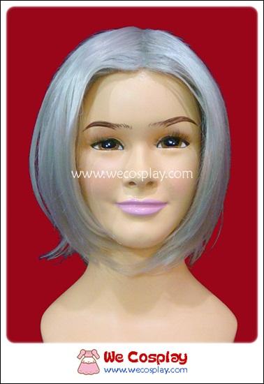 วิกผมโกคุเดระ รีบอร์น สีเงิน Gokudera Reborn Cosplay Wig