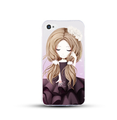 เคสไอโฟน 6 Plus / 6s Plus (TPU CASE) สาวเกาหลีน่ารัก แบบ 8