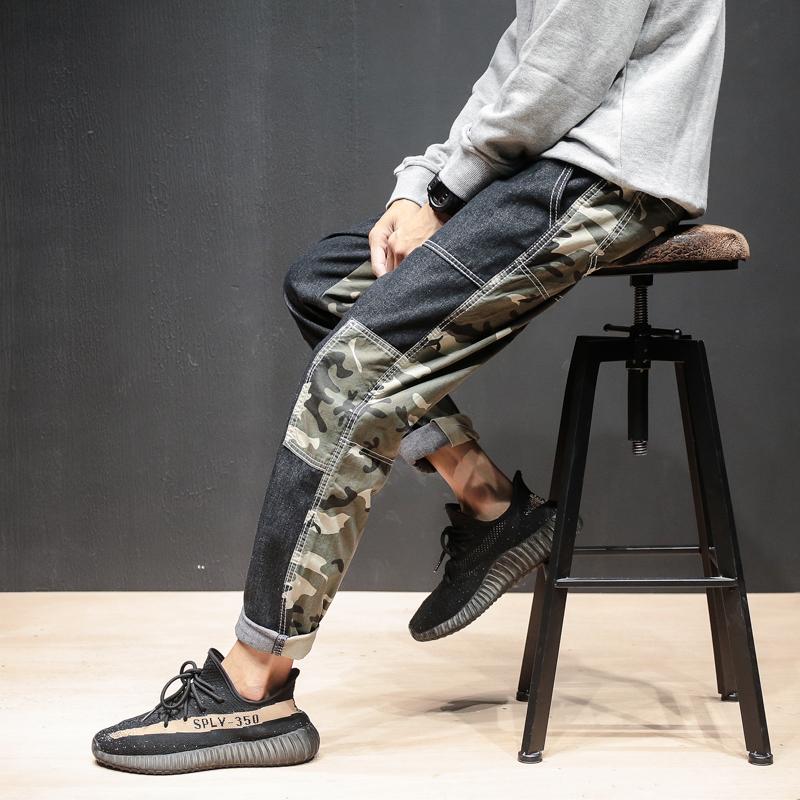 *Pre Order* กางเกงยีนส์ทรงกระบอก/แฟชั่นชายญี่ปุน size M-5XL