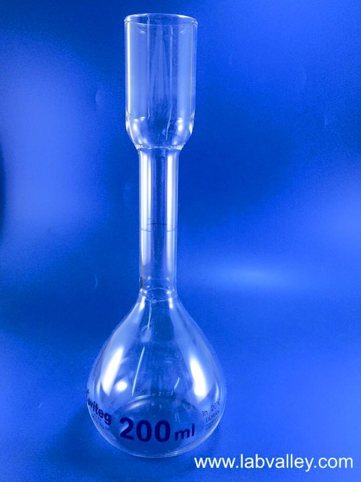 ขวดวัดปริมาตรสำหรับวิเคราะห์น้ำตาล Kohlrausch volumetric flask