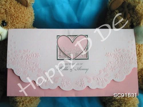 SC91831 การ์ดแต่งงานแนะนำ