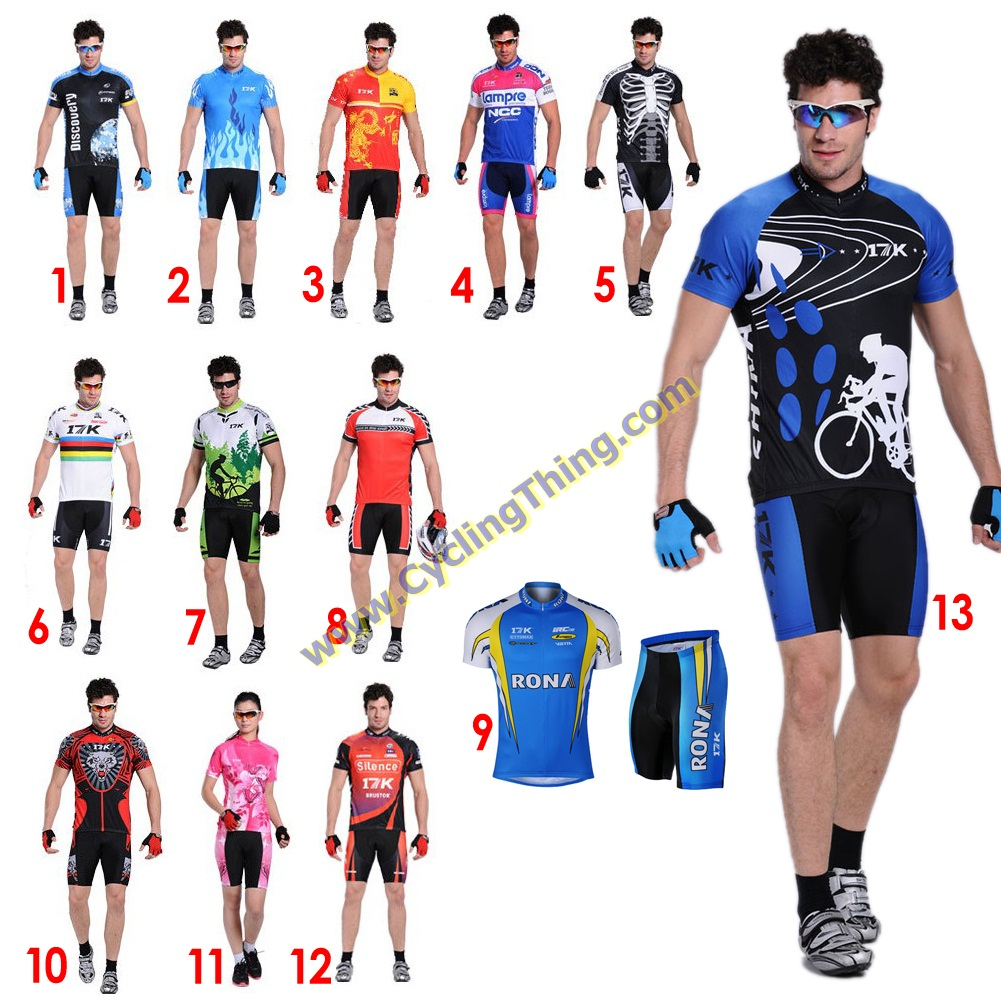 พรีออเดอร์ ชุดปั่นจักรยาน เสื้อปั่นจักรยานแขนสั้น + กางเกงปั่นจักรยานขาสั้น รหัส C067-2