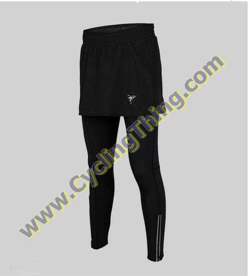 กางเกงกระโปรงปั่นจักรยานขายาว สำหรับผู้หญิง **พร้อมส่ง สำเนา