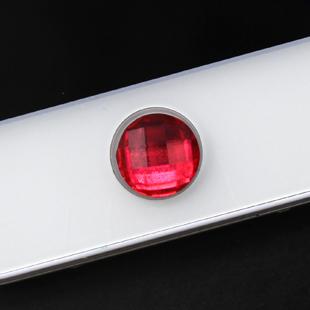 ปุ่มโฮมไอโฟนเพชร สีแดง ( 1ชิ้น/Pack )