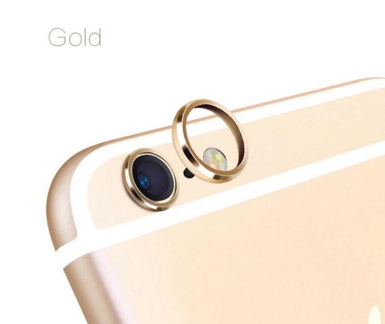 (สีทอง) วงแหวนป้องกันเลนส์กล้อง Iphone 6/6s