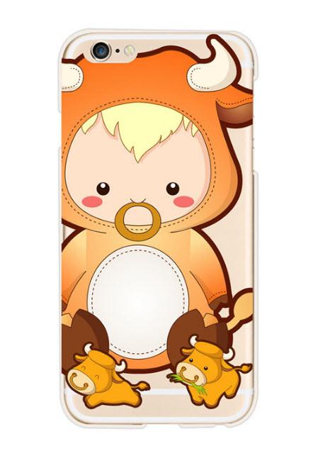 เคสไอโฟน 7 (TPU Case) เคสไอโฟน 12 ราศี ปีฉลู