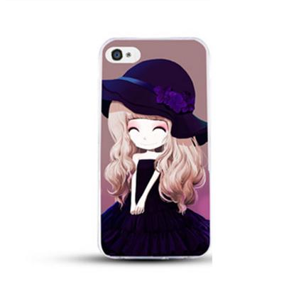 เคสไอโฟน 6 Plus / 6s Plus (TPU CASE) สาวเกาหลีน่ารัก แบบ 20