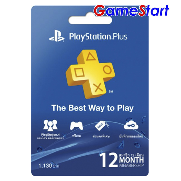 PlayStation Plus 12 Month (THAI)