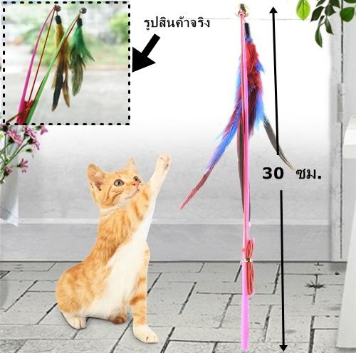 ของเล่นแมว เบ็ดตกแมว (5 ชิ้น/แพ็ค)