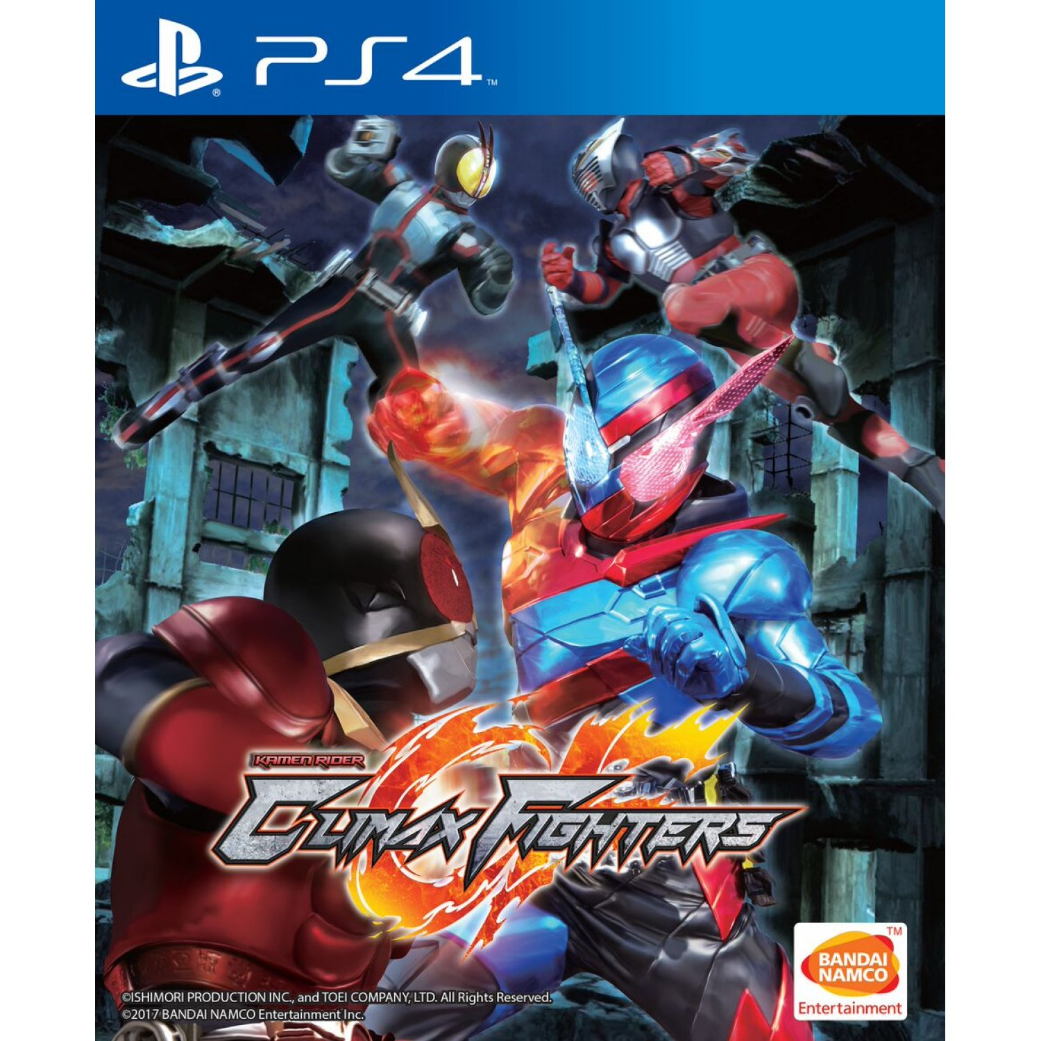 PS4:KAMEN RIDER: CLIMAX FIGHTERS (R3)