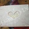 HWC5581 การ์ดแต่งงานแบบหวานๆ