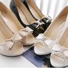 รองเท้าคัทชูแฟชั่น ทรงสวย สูงกำกลังดี ใส่ไม่เมื่อยเท้า มีให้เลือกถึง 4 สี