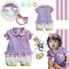 ชุดเด็ก Baby Daisy Duck + ผ้าคาดผม