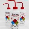 กระบอกฉีด solvent safety wash bottle acetone