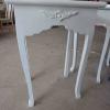 โต๊ะลิ้นชัก วินเทจ ใส่ของ สีขาวสำหรับร้านค้า