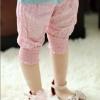 เสื้อผ้าเด็กขายส่งยกแพ็ค กางเกงลายจุด สีชมพู แพ็ค 5 ตัว ไซด์ 5-13