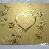 การ์ดแต่งงาน เรียบหรู คลาสิค แนวใหม่ การ์ดแต่งงานสีทอง