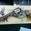 Tanaka Colt Single Action Army Revolver 1st Generation 5 1/2 inch Nickel Plating Model cap gun