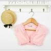 เสื้อผ้าเด็กขายส่งยกแพ็ค เสื้อคลุมเด็ก สีชมพู แพ็ค 5 ตัว ไซด์ 5-13