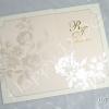 HWC5639 การ์ดแต่งงาน 3 พับ แนวนอน